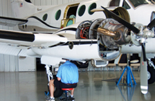 SSC expertly maintains your aircraft and gets you on your way quickly.