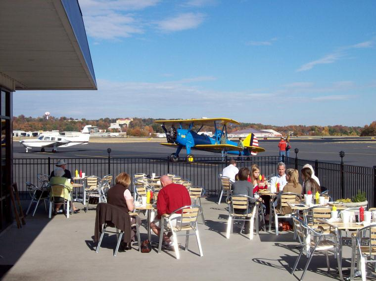 The Runway Restaurant and brings the airport and the community together.