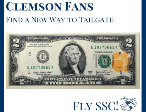 Clemson Tailgating Boosters Enjoy Charter Flights to Away Games