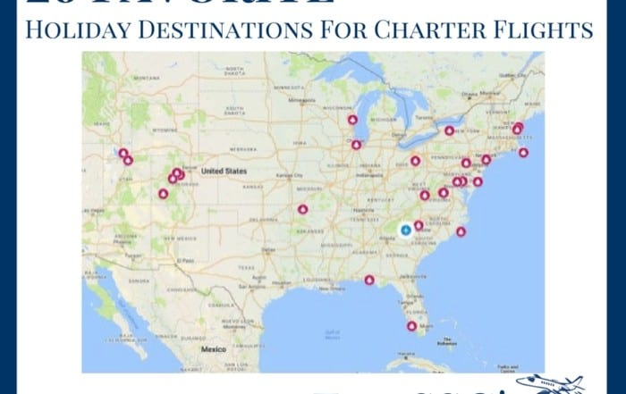 Holiday Destinations for Charter Flights