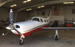 Piper Mirage on Aircraft Management Certificate- Exterior