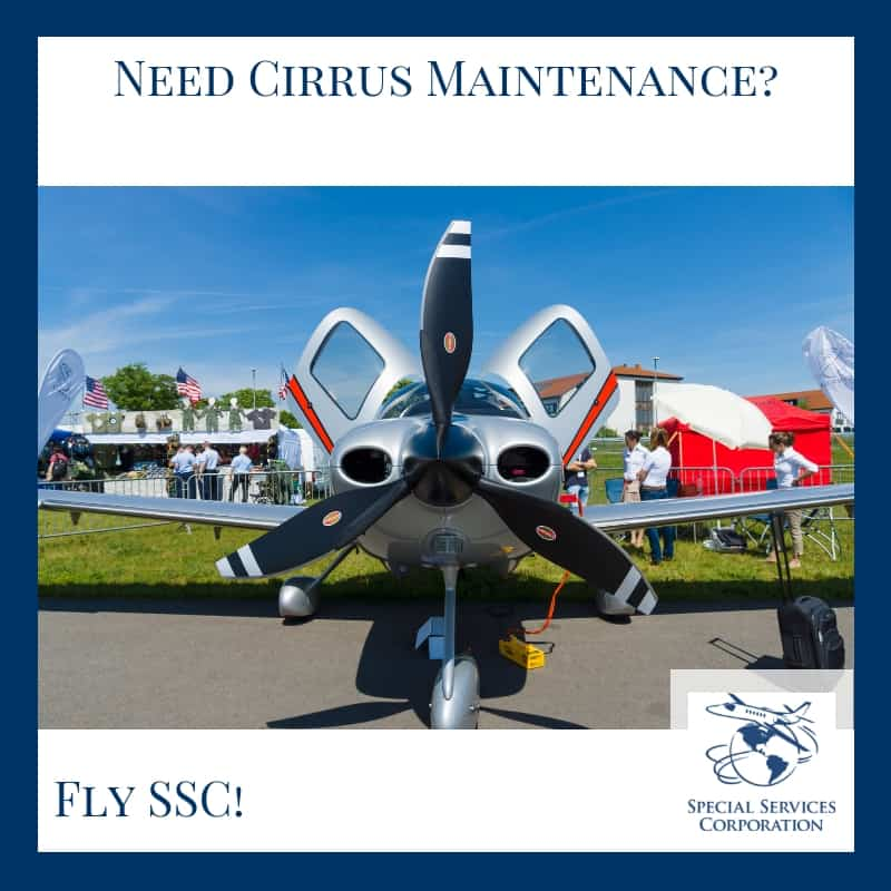 Cirrus Aircraft Maintenance